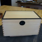Huon Pine and Ebony Box