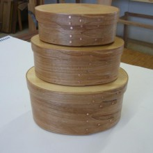 Shaker boxes by Sue