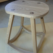 Bathroom stool by Justina