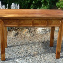 Hall table/desk in local blackwood by Michael