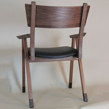 winton chair in walnut