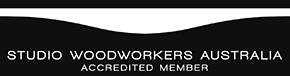 Accredited member of Studio Woodworkers Australia