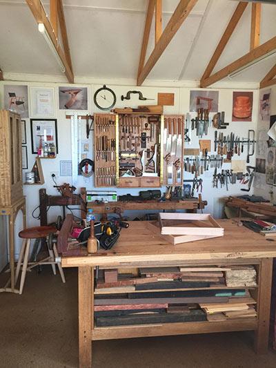 phoebe everill workbench & tool cabinet