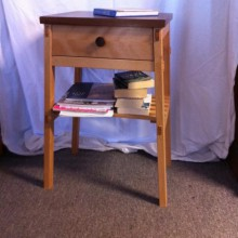 Bedside table (pair) by Michael
