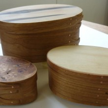 Shaker Boxes by Pascale