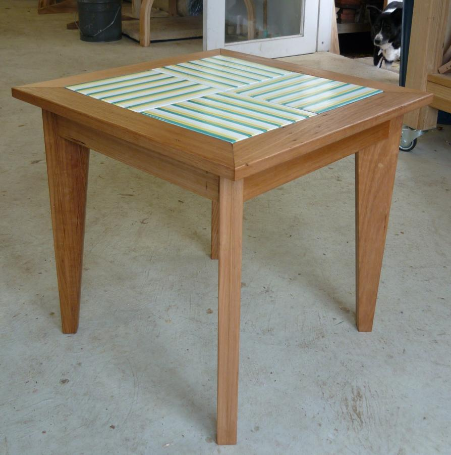 Outdoor table by Sally