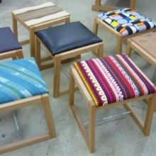 Winter School @ Sturt Student Stools and Tables