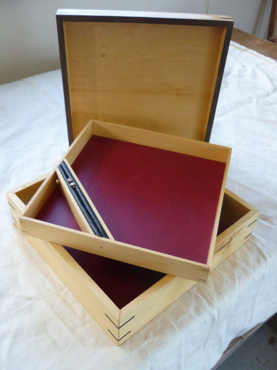 Huon pine jewellery box by Merran
