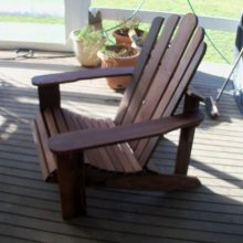 Adirondack Chair by Deb