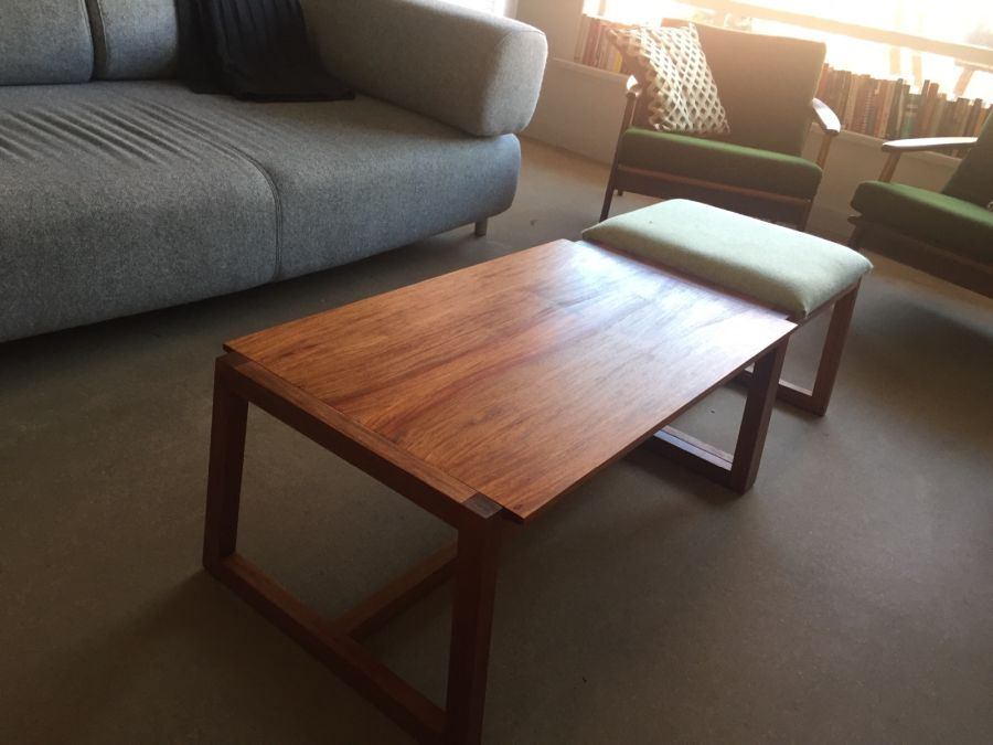 Coffee table and stool by Will