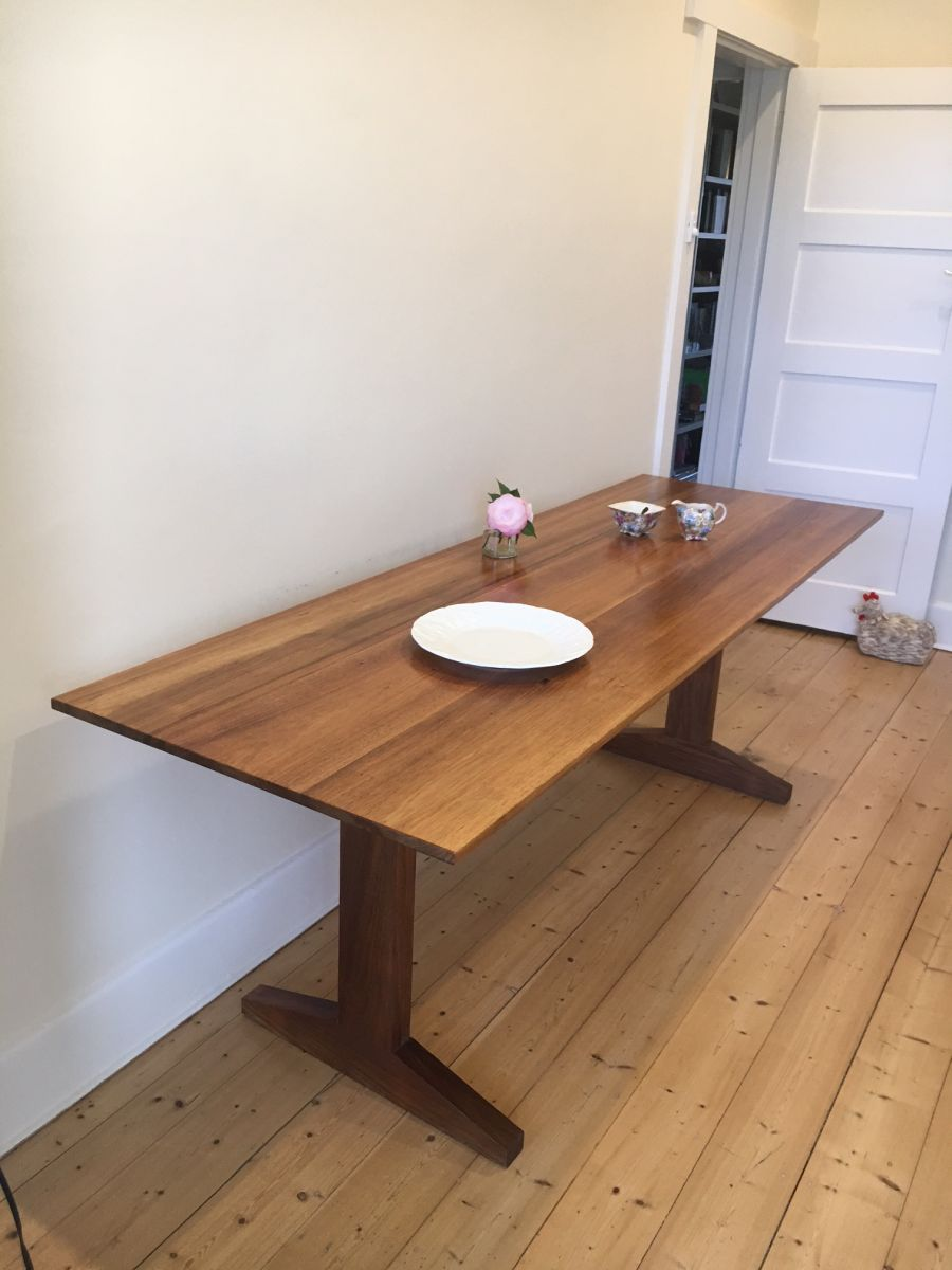 Dining table in Blackwood by Michael