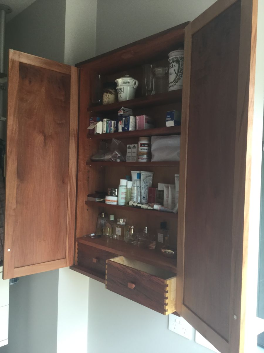 pharmaceutical cabinet by michael