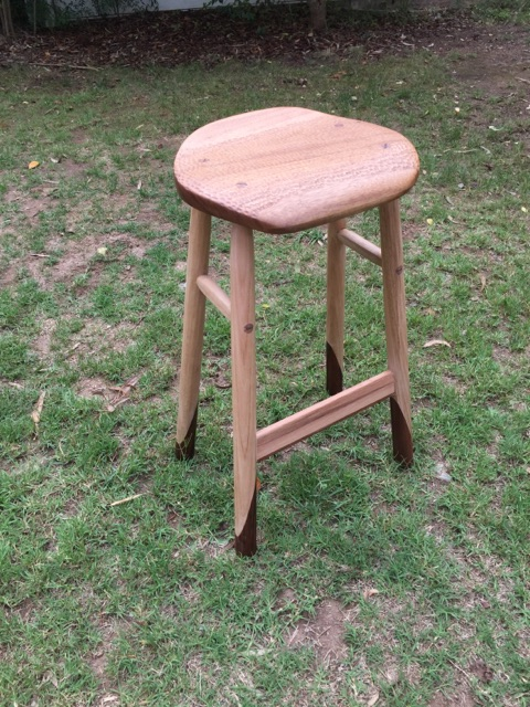 perch stool in vic ash