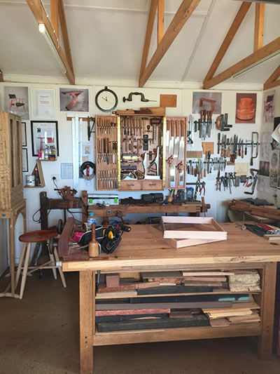 phoebe everill workbench & tool cabinet