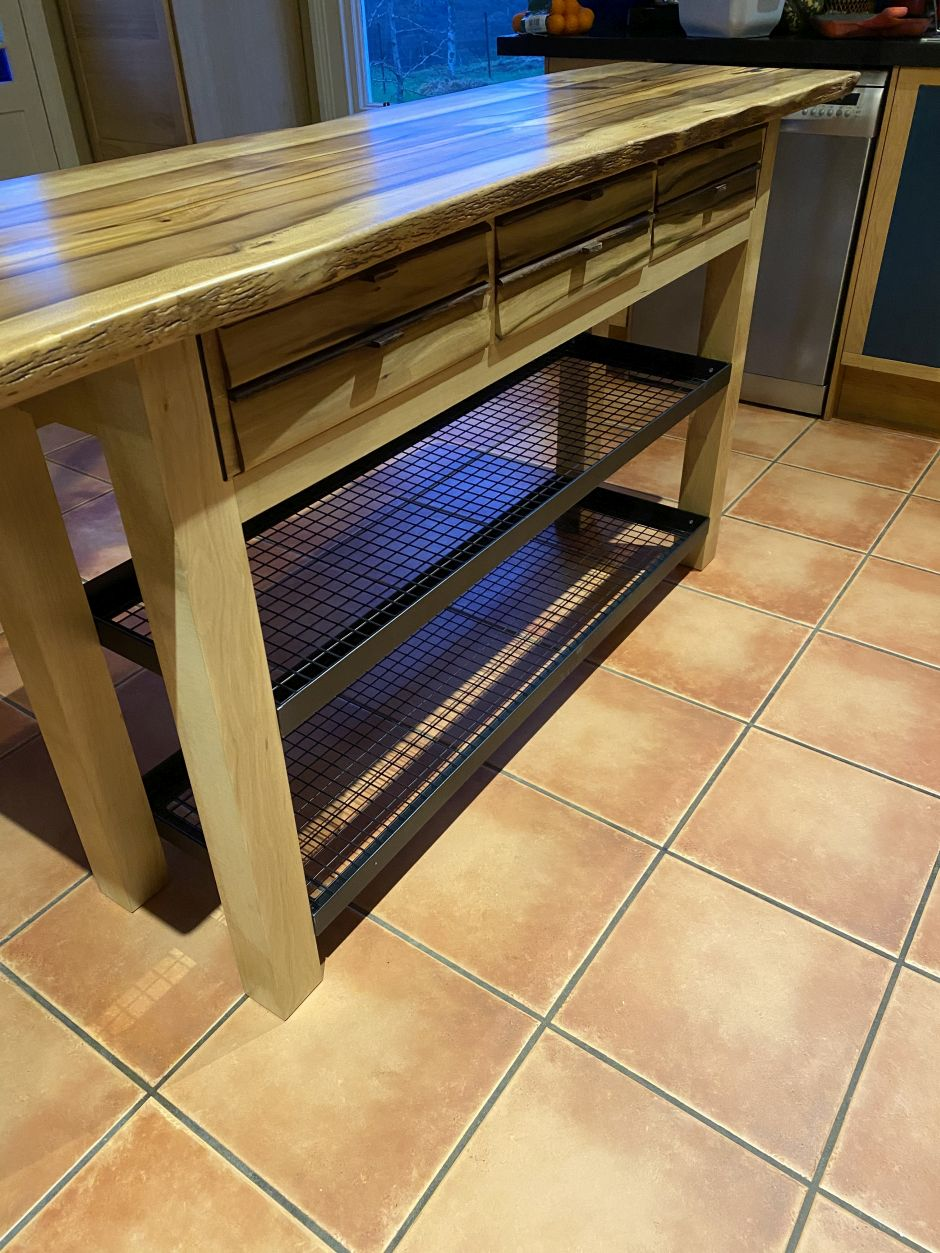 solid timber kitchen island bench 02
