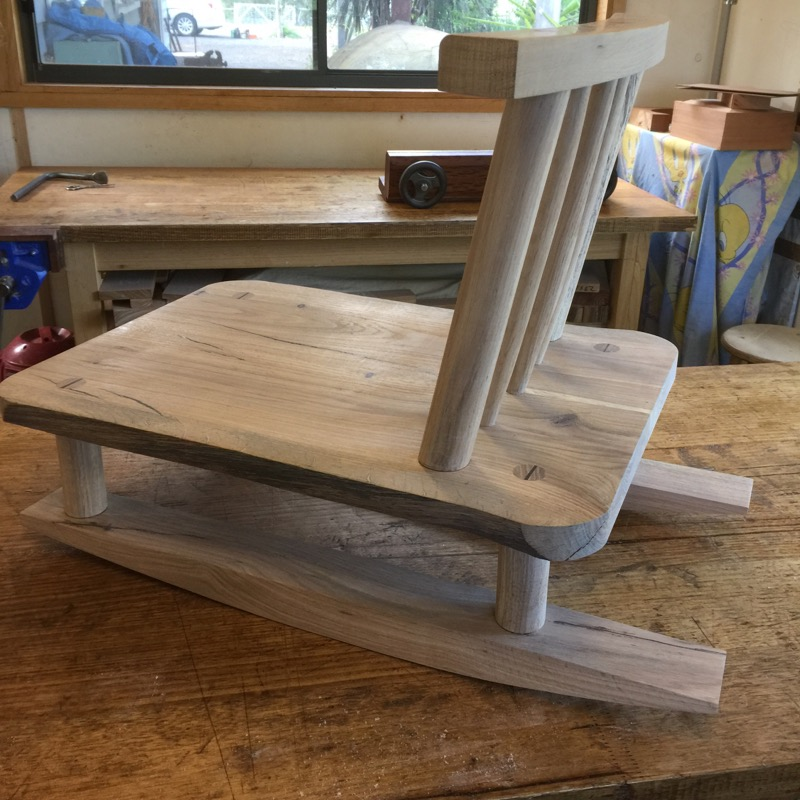 Salvaged Oak Rocking Chair by Will