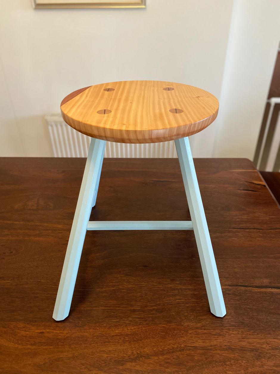Milking Stools by Gary