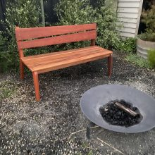 Outdoor Bench by Emily