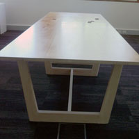 Board room table for Thorne Harbour Health