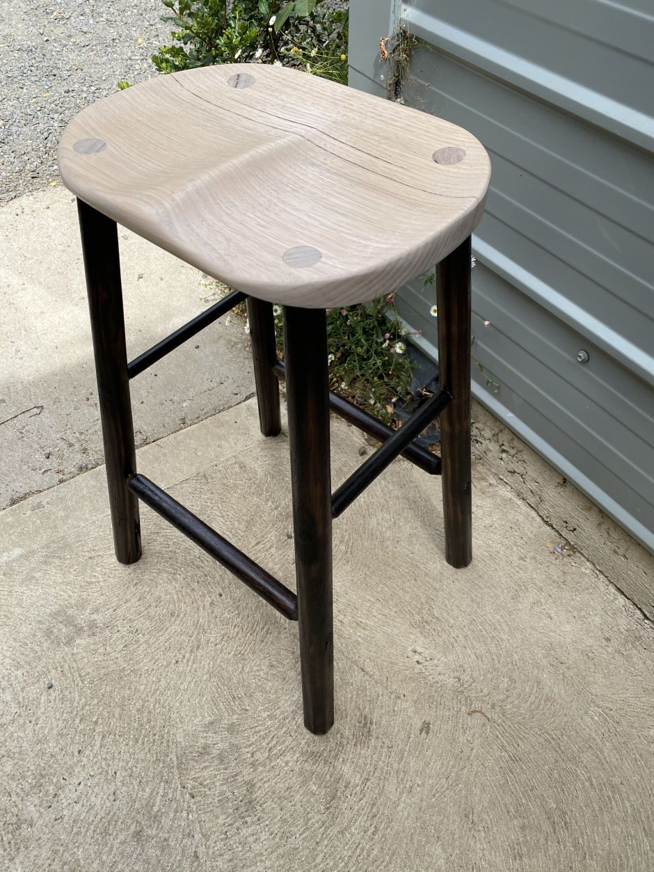ash kitchen stool 1