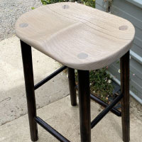 ash kitchen stool