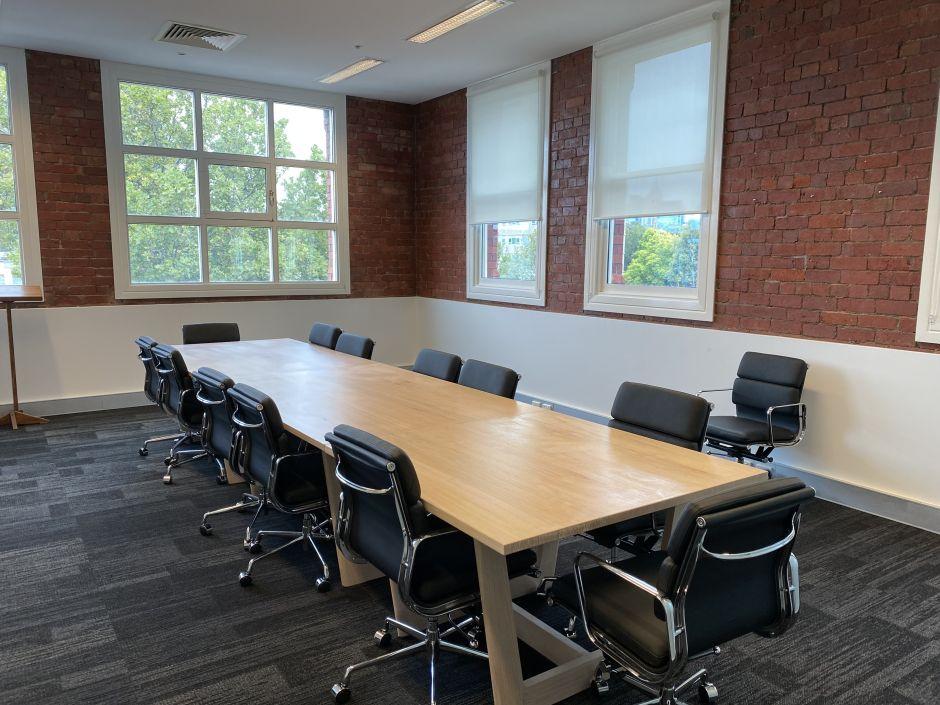 custom built boardroom table