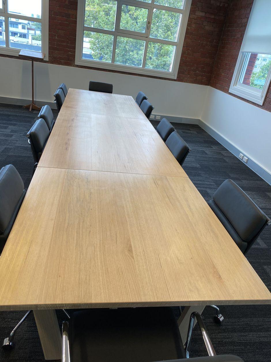 boardroom table custom built
